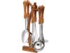 Кухонный набор Kaiserhoff 1095 7 предметов. Нержавейка + пластик.