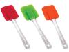 Лопатка кулинарная силиконовая Kaiserhoff 1138 цветная 24см