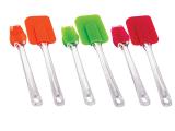 Набор кулинара кисть+лопатка силиконовые Kaiserhoff 1139 цветные