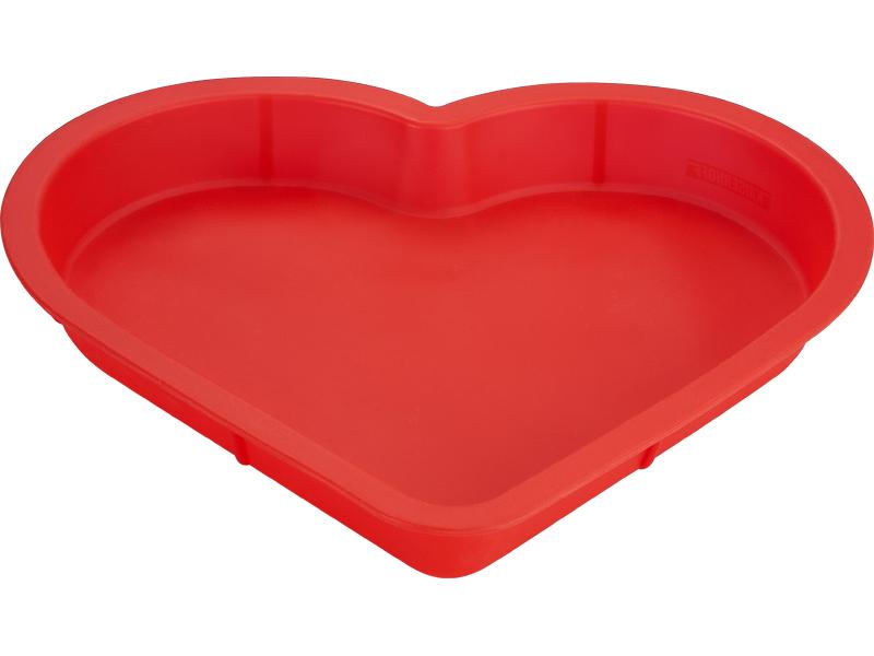 Силиконовая форма для выпечки в виде сердца