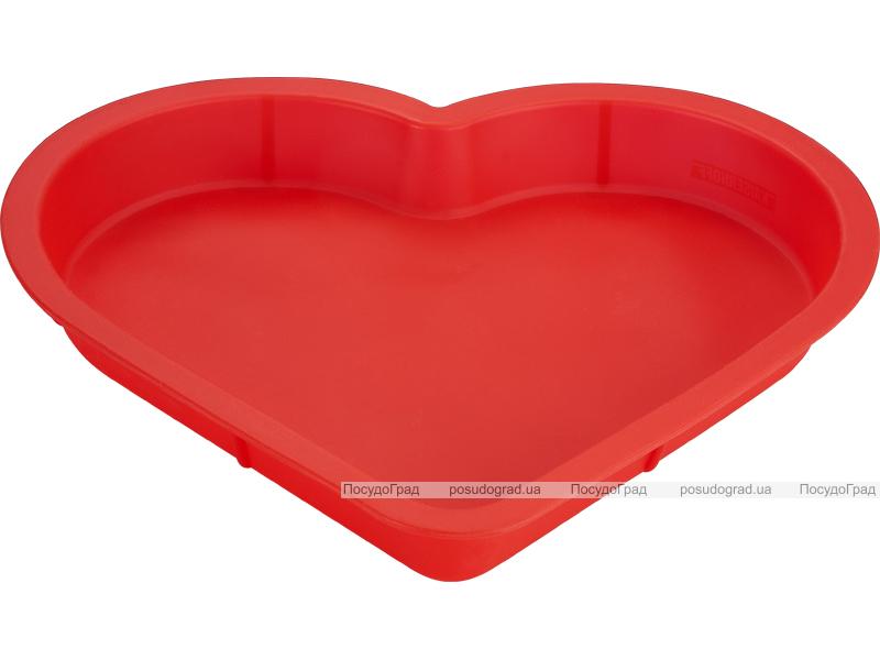 Силиконовая форма для выпечки Kaiserhoff 1165 Пирог-сердце