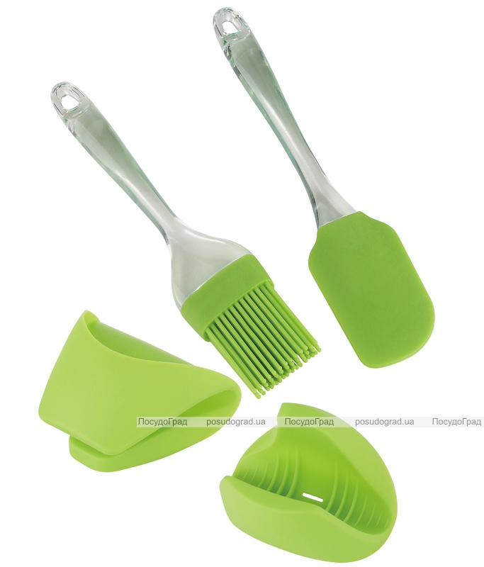Набор кулинарных принадлежностей Kaiserhoff лопатка, кисточка и прихватки