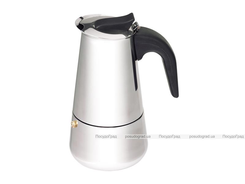 Гейзерная кофеварка эспрессо Kaiserhoff 1560 на 4 чашки