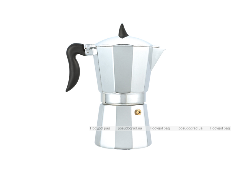 Гейзерная кофеварка эспрессо Kaiserhoff 1563 на 1 чашку