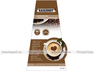 Гейзерная кофеварка эспрессо Kaiserhoff 1566 на 9 чашек