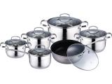 Набір кухонного посуду Wellberg Legend 12 предметів
