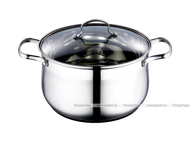 Кастрюля Kaiserhoff Style Pot 3,9л со стеклянной крышкой