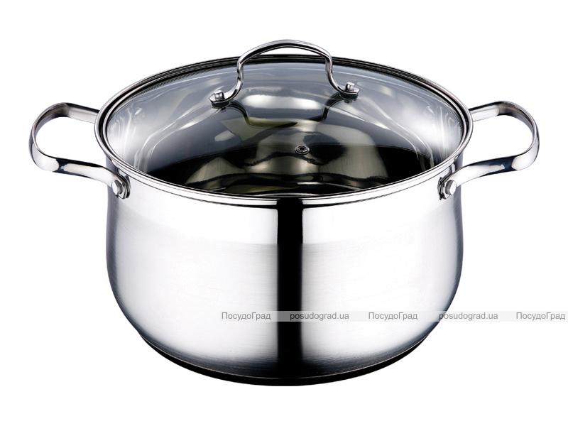 Кастрюля Kaiserhoff Style Pot 6,5л со стеклянной крышкой