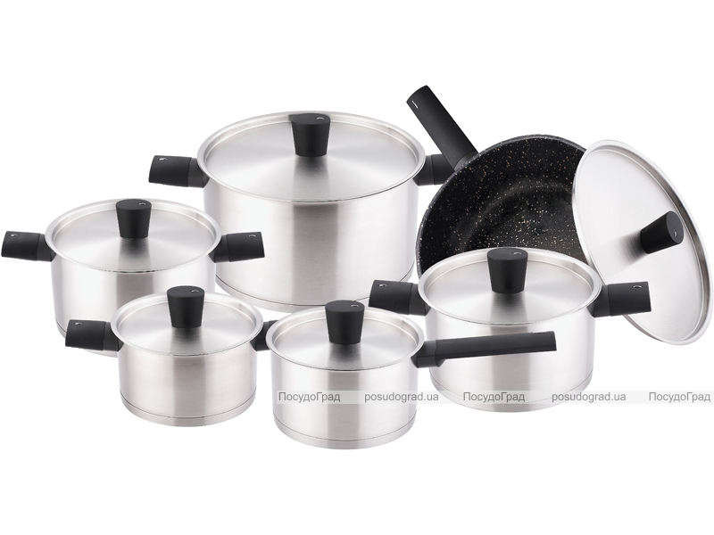 Набор кухонной посуды Kaiserhoff Cookware Style 12 предметов