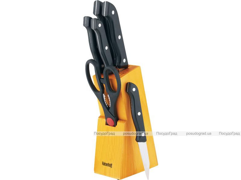Набор стальных ножей Kaiserhoff 0180 7 предметов