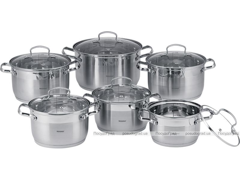 Набор кухонной посуды Kaiserhoff Legend II 12 предметов