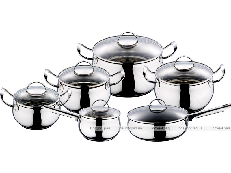 Набор кухонной посуды Kaiserhoff Marica 12 предметов
