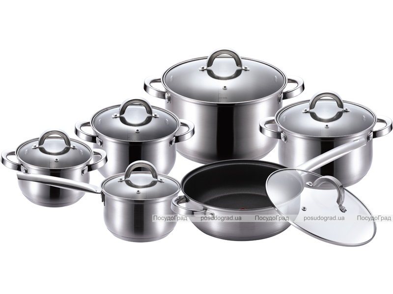 Набор кухонной посуды Kaiserhoff Legend 2107 12 предметов