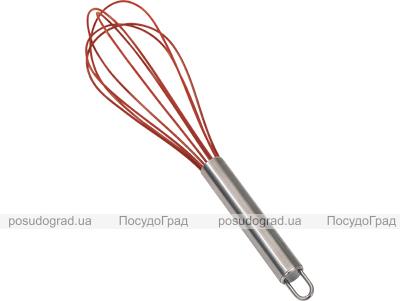 Венчик силиконовый Kaiserhoff 25см, ручка из нержавеющей стали