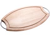 Доска разделочная Kaiserhoff овальная каучуковое дерево