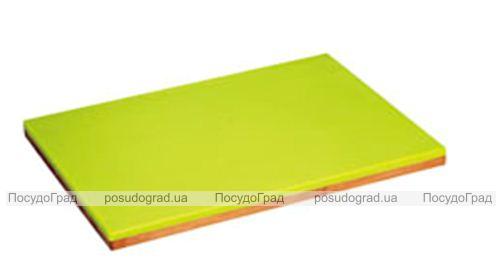 Доска разделочная Kaiserhoff пластик и бамбук 28х20см