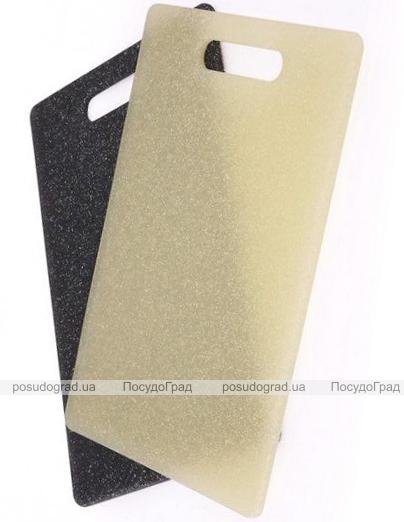 Доска разделочная Kaiserhoff Marble пластиковая 37х28см с антибактериальным покрытием