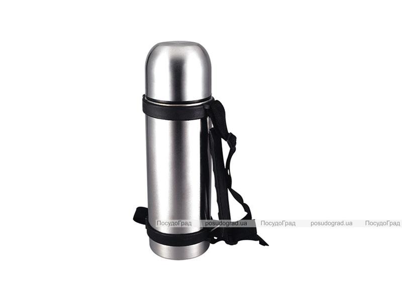 """Термос Kaiserhoff """"Vacuum Flask"""" 500мл с ручкой и чехлом"""