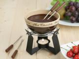 Набор для шоколадного фондю Kaiserhoff 6151 Hot Chocolate 6 предметов