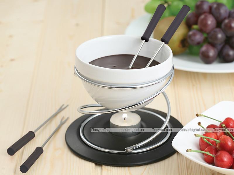 Набор для шоколадного фондю Kaiserhoff 6157 Hot Chocolate 7 предметов