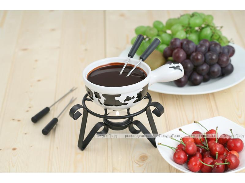 Набор для шоколадного фондю Kaiserhoff 6158 Hot Chocolate 6 предметов