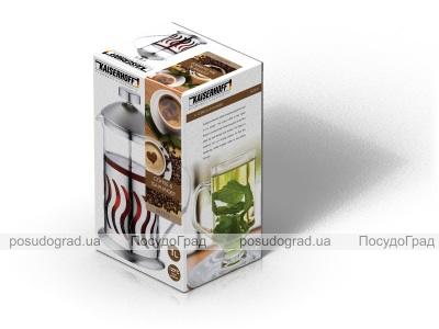 Френч-пресс Kaiserhoff 7312 1000мл Coffee&Tea Plunger