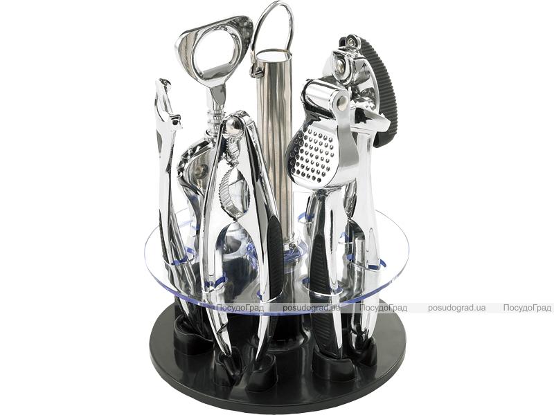 Набор кухонный Bergner на подставке 6 предметов (Барсет)