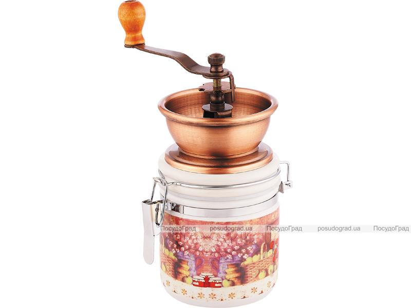 Кофемолка ручная Kaiserhoff 9938 керамическая банка