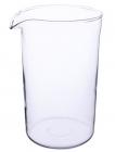 Колба-запаска Kamille для френч-пресса стеклянная 1000 мл