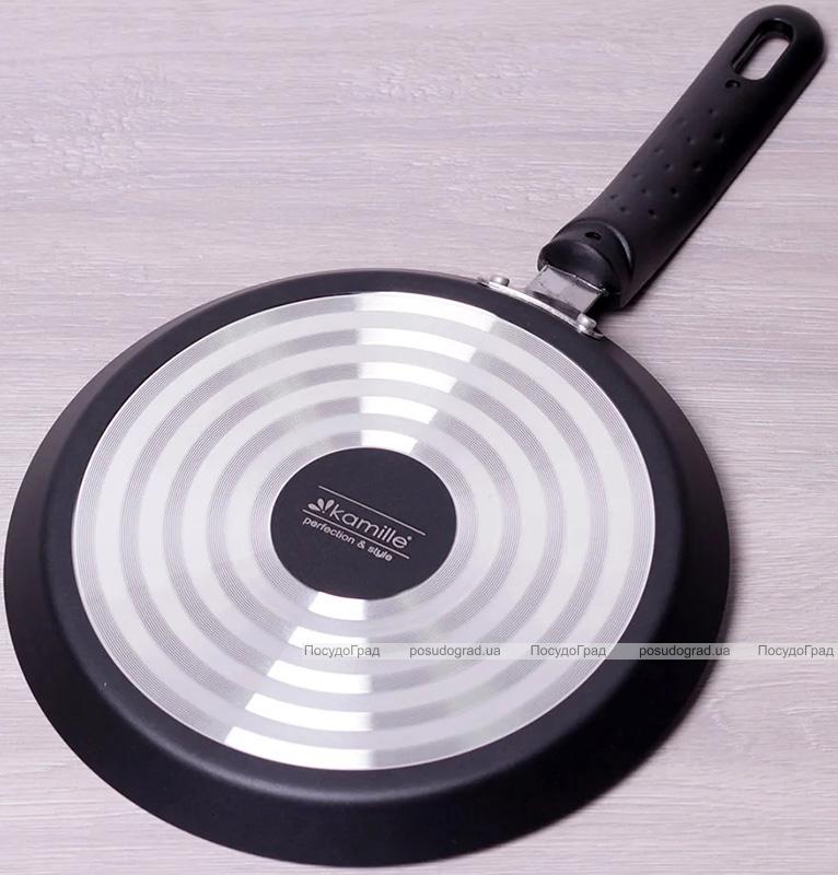 Сковорода для млинців Kamille Jock Ø24см з антипригарним покриттям