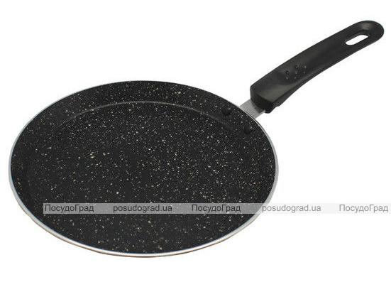 Сковорода блинная Kamille Velbert Ø22см с мраморным антипригарным покрытием