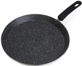 Сковорода для млинців Kamille Crepe Pan Marble Ø30см з мармуровим покриттям