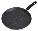 Сковорода для млинців Kamille Crepe Pan Marble Ø26см з мармуровим покриттям
