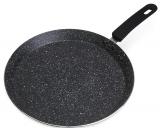 Сковорода для млинців Kamille Crepe Pan Marble Ø28см з мармуровим покриттям