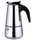 Гейзерна кавоварка Kamille Stainless Steel на 9 чашок 450мл