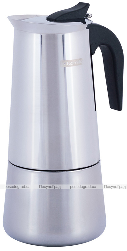 Гейзерна кавоварка Kamille 600мл на 12 чашок