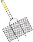 "Решетка для барбекю Kamille ""Скаут"" с антипригарным покрытием 46х25.5х2см"