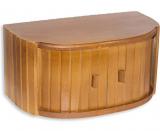 Хлебница Kamille ECO деревянная 41х23х23см