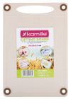Дошка кухонна Kamille Natural Care 29х20см з пшеничного волокна