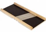 Шинковка деревянная Kamille 39х17.5см 3 ножами