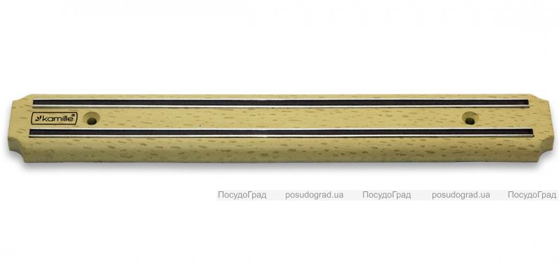 Магнитная планка Kamille Light Wood 34см для ножей