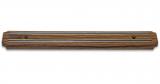 Магнітна планка Kamille Dark Wood 34см для ножів