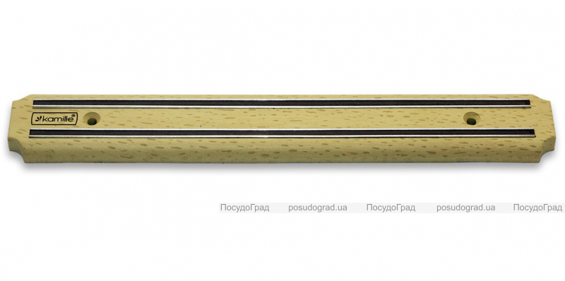 Магнитная планка Kamille Light Wood 48см для ножей
