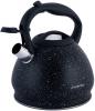 Чайник Kamille Whistling Kettle Marble 2.7л з нержавіючої сталі зі свистком