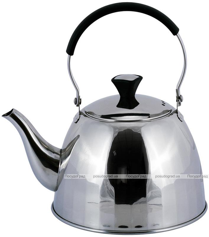 Чайник Kamille Persian Garden 1л з нержавіючої сталі з фільтром-ситечком