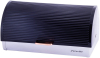 Хлебница Kamille Breadbasket Steel&Plastic 38.5х25.5х18.5см из нержавеющей стали с пластиковой крышкой