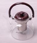 Чайник заварочный Kamille Orlate 1000мл стеклянный со съемным ситечком