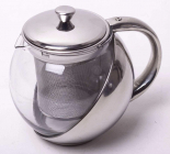Чайник заварочный Kamille Mercyle 500мл стеклянный со съемным ситечком