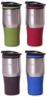 Термокружка Kamille Coffee-II 380мл, нержавеющая сталь