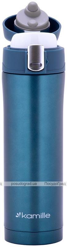 Термос Kamille Marigee 450мл из нержавеющей стали, термокружка